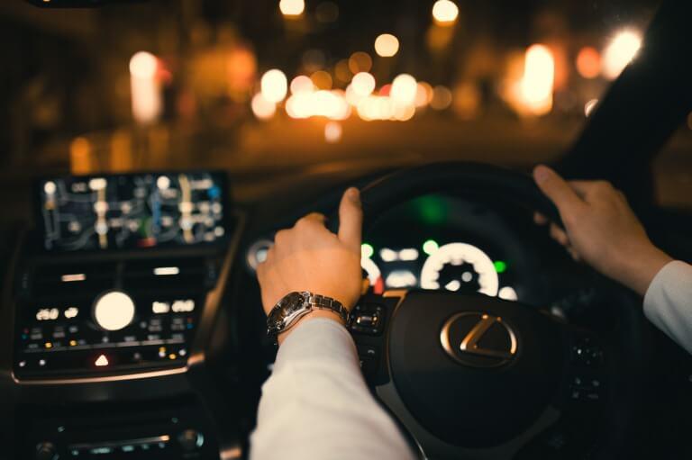 酔わない運転方法3つの心得とは